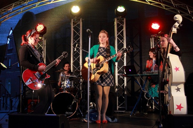 Peggy Sugarhill & The Eldorado Tigerettes / So klingt Rockabilly in Borken bei That's Live